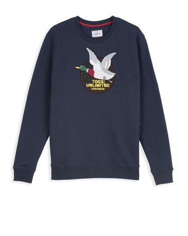 SWEAT SHIRT NAVY TOGS UNLIMITED