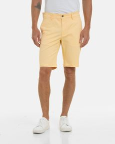 BERMUDA JAUNE CLAIR TOGS STRAIGHT SHORT
