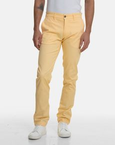 PANTALON JAUNE CLAIR TOGS SLIM SUMMER