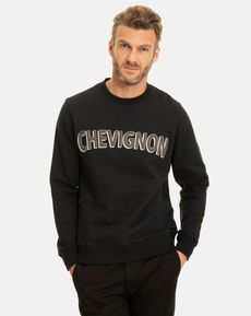 SWEAT SHIRT NOIR MARCELLO