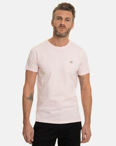 TEE-SHIRT ROSE PALE CHINE T-TOGS