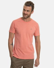 TEE-SHIRT ROSE CORAIL CHINE T-TOGS
