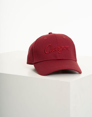 CASQUETTE ROUGE POURPRE CAP SINGLE