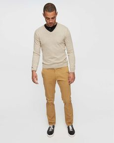 PANTALON SABLE CHINO STRAIGHT PERM