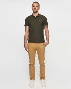 PANTALON SABLE CHINO SLIM PERM