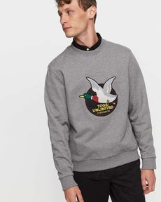 SWEAT GRIS CHINE TOGS UNLIMITED