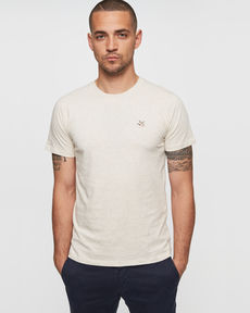 TEE-SHIRT BEIGE CHINE T-TOGS