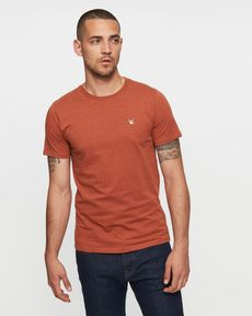 TEE-SHIRT TERRACOTTA CHINE T-TOGS