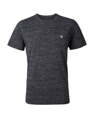 TEE-SHIRT ANTHRACITE CHINE T-TOGS