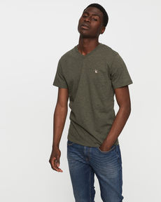 TEE-SHIRT VERT FORET CHINE T-TOGS V