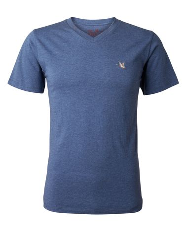 TEE-SHIRT BLEU ROYAL CHINE T-TOGS V