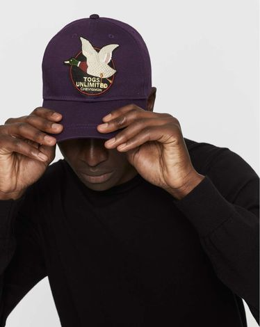 CASQUETTE PURPLE CAP DUCK