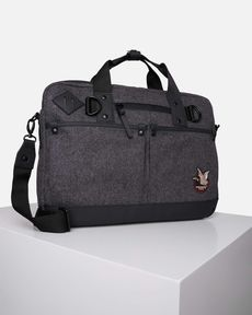 CARTABLE GRIS LAPTOP WOOL