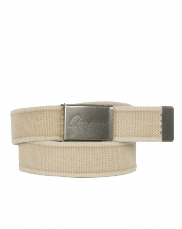 CEINTURE SANGLE SABLE NEW DUCK