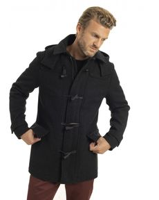 DUFFLE COAT GRIS ANTHRACITE MARCELLO