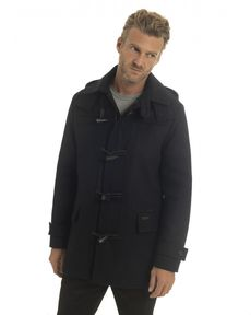 DUFFLE COAT NAVY MARCELLO