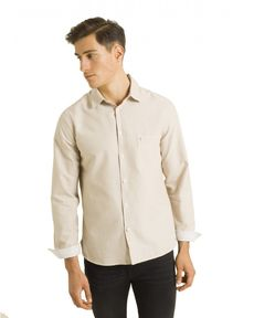CHEMISE STRAIGHT SABLE CL OXFORD TOGS