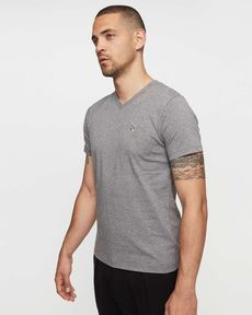 TEE-SHIRT GRIS CHINE T-TOGS V