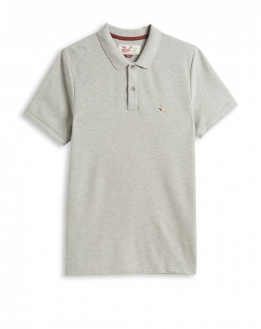 POLO GRIS CHINE CLAIR O-TOGS