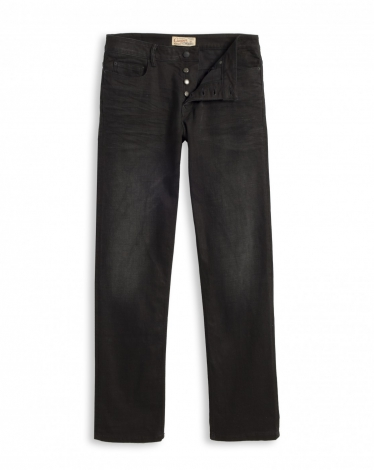 DENIM WASH 1 P-STRAIGHT BLACK