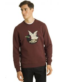 SWEAT ROUGE BURGUNDY S-UNLIMITED