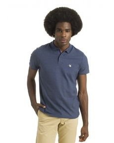 POLO BLEU PETROLE CHINE O-TOGS