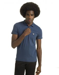 POLO BLEU PETROLE O-TOGS SLIM