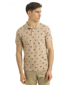 POLO BEIGE CHINO CHINE NATURE
