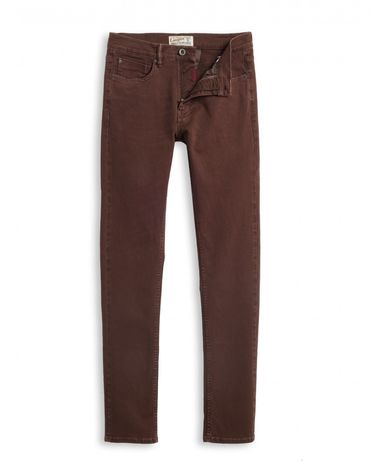 DENIM ROUGE BURGUNDY KANE SLIM
