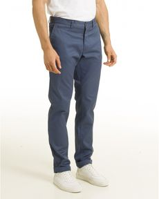 PANTALON BLEU PETROLE TOGS STRAIGHT
