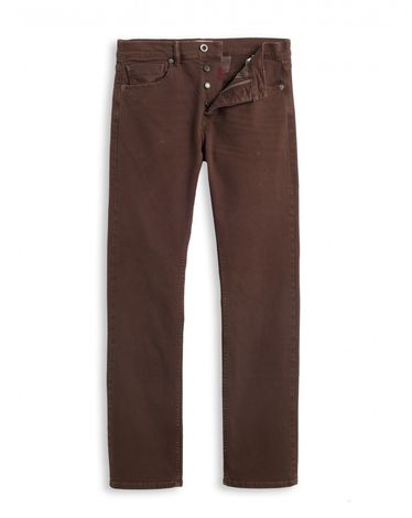 DENIM ROUGE BURGUNDY KANE STRAIGHT