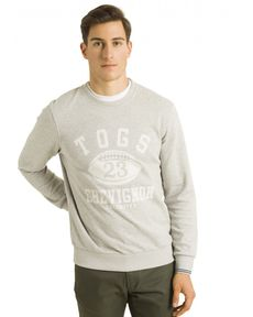 SWEAT GRIS CHINE CLAIR TIEBREAK