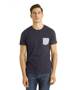 TEE-SHIRT NAVY BASKET