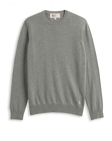 PULL GRIS CHINE U-TOGS