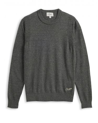 PULL GRIS CHINE RIBBY