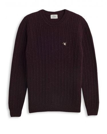 PULL ROUGE BURGUNDY OVER