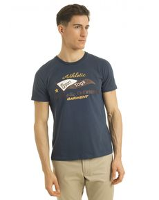 TEE-SHIRT BLEU PETROLE AUTHENTIC