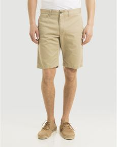BERMUDA BEIGE CHINO TOGS STRAIGHT SHORT