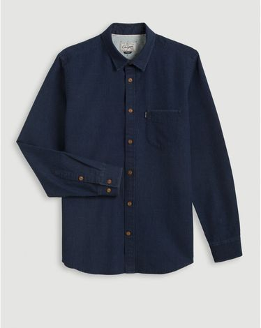 CHEMISE BLEU COVERALL