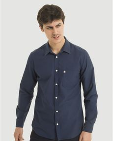 CHEMISE MIDNIGHT BLUE CL OXFORD TOGS