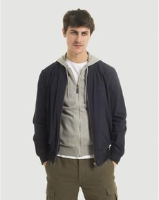 BLOUSON NAVY TED COTTON