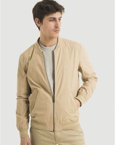 BLOUSON BEIGE CHINO TED COTTON