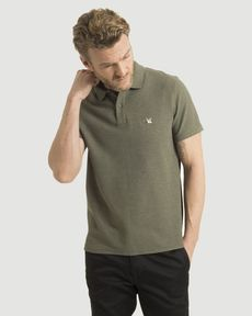 POLO VERT OLIVE CHINE O-TOGS