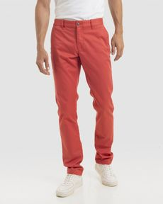 PANTALON ROSE PARROT TOGS SLIM