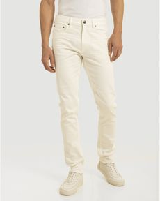 DENIM ECRU FANCY COLOR SLIM