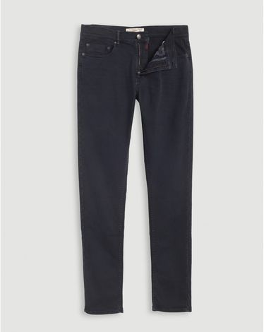 DENIM NAVY FANCY COLOR SLIM
