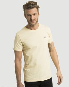 TEE-SHIRT JAUNE D'OR CHINE T-TOGS