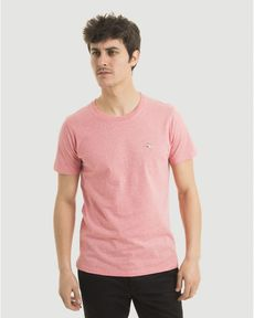 TEE-SHIRT ROSE PARROT CHINE T-TOGS