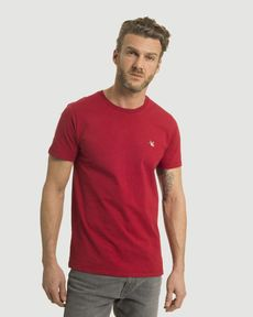 TEE-SHIRT ROUGE PIMENT CHINE T-TOGS