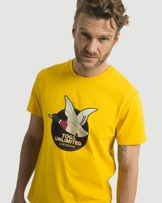 TEE-SHIRT JAUNE D'OR UNLIMITED TEE